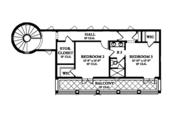 Mediterranean Style House Plan - 4 Beds 3.5 Baths 4697 Sq/Ft Plan #1058-10 Floor Plan - Upper Floor Plan