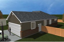 Ranch Floor Plan - Other Floor Plan Plan #1060-9