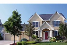 House Plan Design - Traditional Exterior - Front Elevation Plan #51-1091