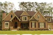 European Style House Plan - 4 Beds 4.5 Baths 4222 Sq/Ft Plan #119-347 Exterior - Other Elevation