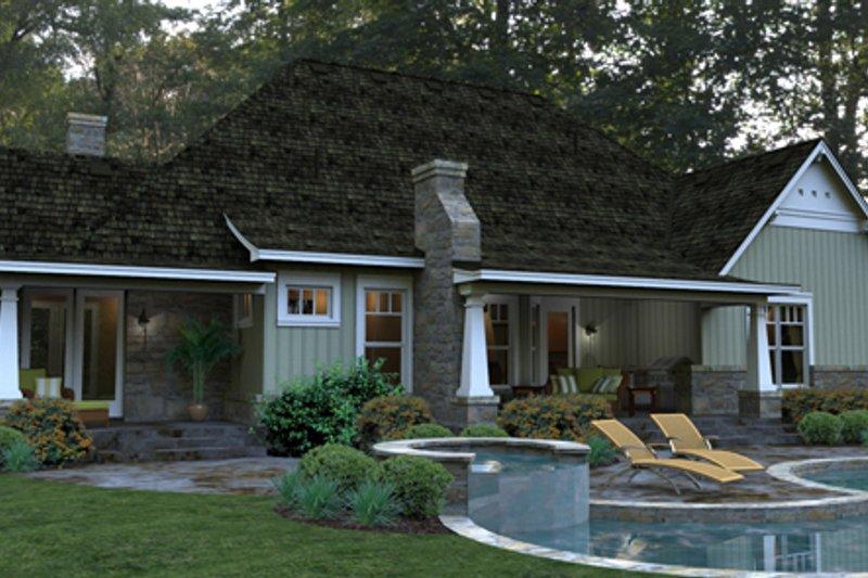 Craftsman Exterior - Other Elevation Plan #120-181 - Houseplans.com