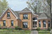 European Style House Plan - 4 Beds 3 Baths 3201 Sq/Ft Plan #424-318