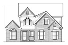 Traditional Exterior - Front Elevation Plan #927-207