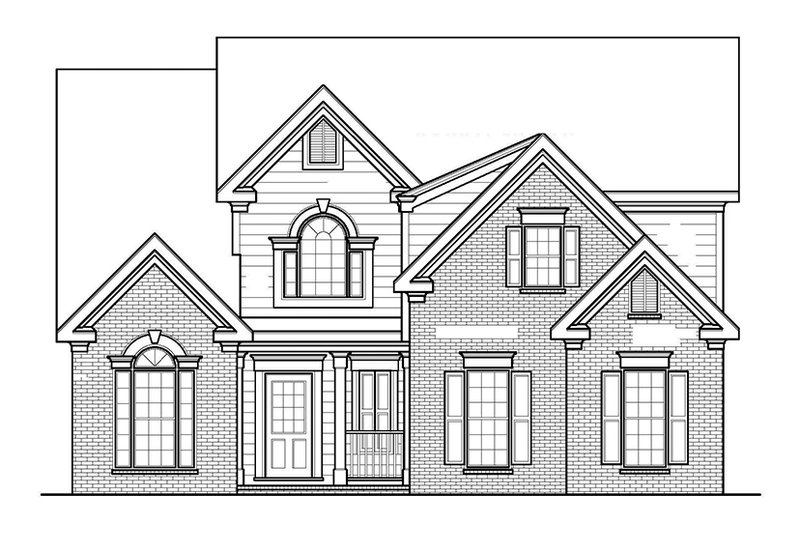 Traditional Exterior - Front Elevation Plan #927-207 - Houseplans.com