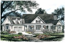 Home Plan - Craftsman Exterior - Front Elevation Plan #929-624