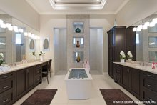 Architectural House Design - Contemporary Interior - Master Bathroom Plan #930-509