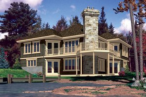 Traditional Exterior - Front Elevation Plan #138-340