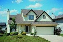 Traditional Exterior - Front Elevation Plan #20-461