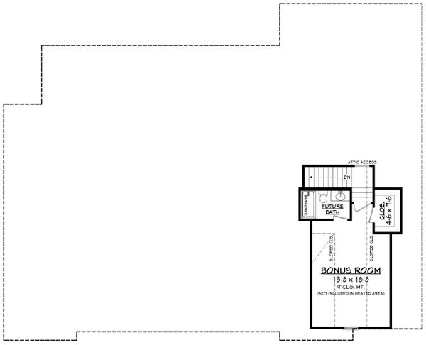 Farmhouse Floor Plan - Other Floor Plan #430-204