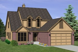 Traditional Exterior - Front Elevation Plan #116-190
