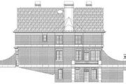 Colonial Style House Plan - 4 Beds 3.5 Baths 2855 Sq/Ft Plan #119-149 Exterior - Rear Elevation