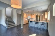 Contemporary Style House Plan - 3 Beds 2 Baths 1843 Sq/Ft Plan #932-7 Interior - Family Room