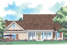 Architectural House Design - Country Exterior - Rear Elevation Plan #930-247