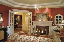 Victorian Interior - Family Room Plan #132-255