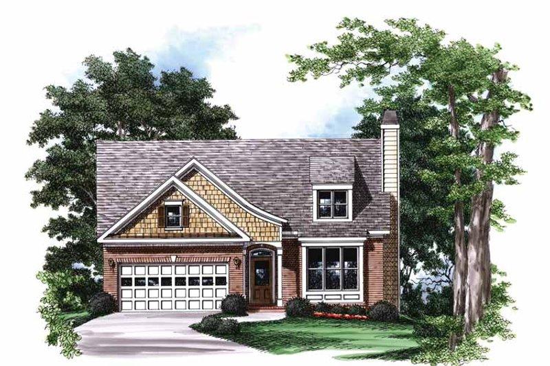 Colonial Exterior - Front Elevation Plan #927-765 - Houseplans.com