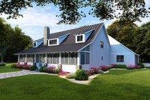 Architectural House Design - Farmhouse Exterior - Rear Elevation Plan #923-104