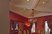 Mediterranean Style House Plan - 6 Beds 5 Baths 6493 Sq/Ft Plan #1058-1 Interior - Dining Room