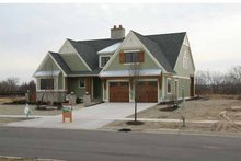 Dream House Plan - Craftsman Exterior - Front Elevation Plan #928-230