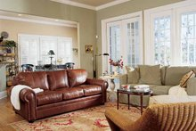 Architectural House Design - Country Interior - Family Room Plan #37-242