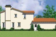 House Blueprint - Adobe / Southwestern Exterior - Other Elevation Plan #72-1133