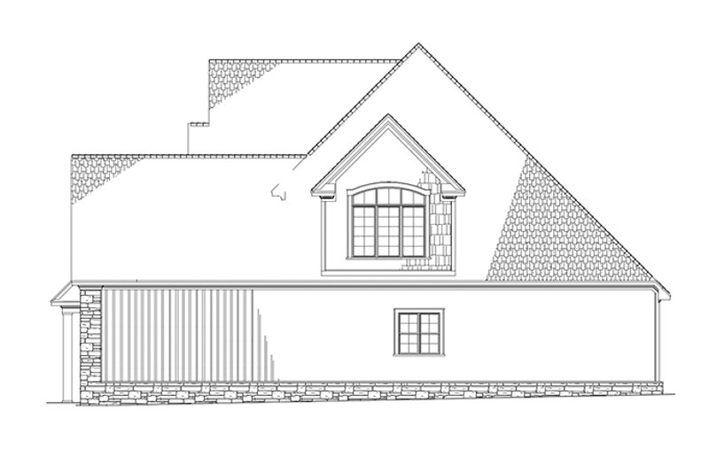 Country Exterior - Other Elevation Plan #17-2677 - Houseplans.com
