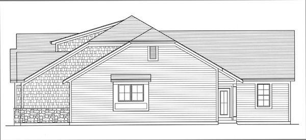 Craftsman Floor Plan - Other Floor Plan Plan #46-838