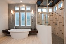 House Plan Design - Contemporary Interior - Master Bathroom Plan #935-5