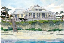 Dream House Plan - Country Exterior - Front Elevation Plan #928-43