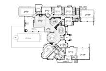 European Floor Plan - Main Floor Plan Plan #417-816