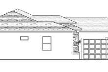 Architectural House Design - Mediterranean Exterior - Other Elevation Plan #1058-112