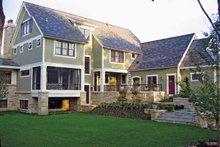 House Plan Design - Craftsman Exterior - Rear Elevation Plan #928-19