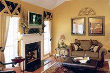 Dream House Plan - Country Interior - Family Room Plan #927-120