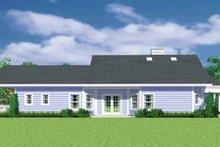 House Plan Design - Craftsman Exterior - Other Elevation Plan #72-1137