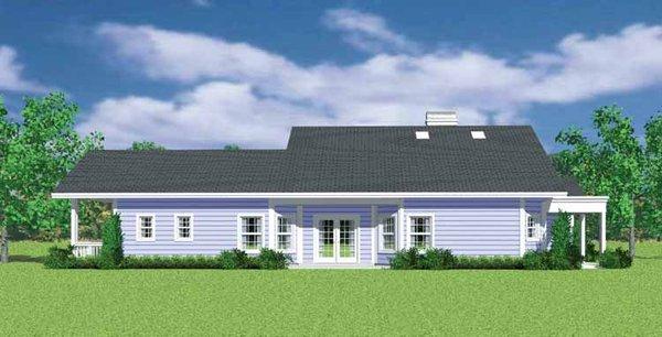 Craftsman Floor Plan - Other Floor Plan Plan #72-1137