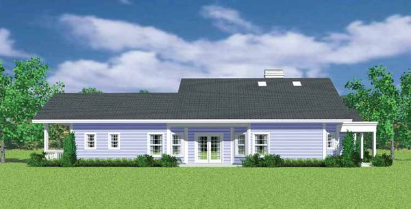House Blueprint - Craftsman Floor Plan - Other Floor Plan #72-1137