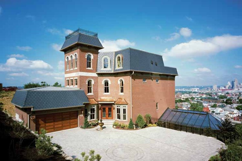 European Exterior - Front Elevation Plan #46-759 - Houseplans.com