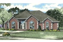 House Design - Traditional Exterior - Front Elevation Plan #17-2794