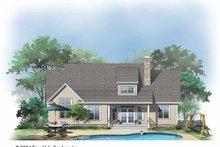 Craftsman Exterior - Rear Elevation Plan #929-721