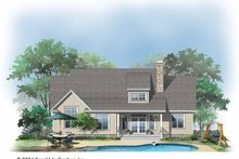 Craftsman Exterior - Rear Elevation Plan #929-721