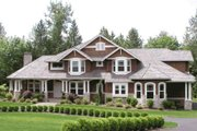 Craftsman Style House Plan - 4 Beds 3.5 Baths 4100 Sq/Ft Plan #132-162 Exterior - Other Elevation