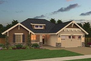 Dream House Plan - Craftsman Exterior - Front Elevation Plan #943-48