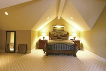 Craftsman Interior - Master Bedroom Plan #132-485