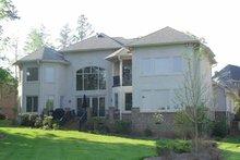 House Plan Design - Mediterranean Exterior - Rear Elevation Plan #453-312