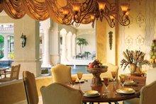 Home Plan - Mediterranean Interior - Dining Room Plan #930-54
