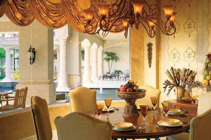 Mediterranean Interior - Dining Room Plan #930-54 - Houseplans.com
