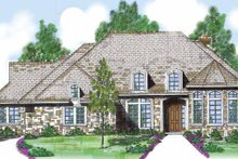 Traditional Exterior - Front Elevation Plan #52-243