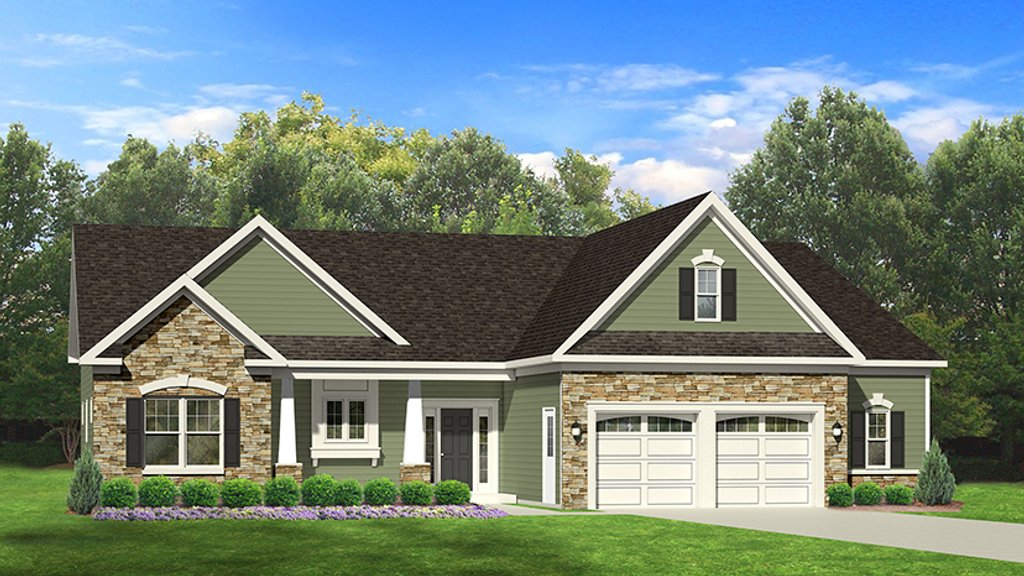 Ranch style house plan 3 beds 2 baths 1598 sq ft plan for Weinmaster house plans