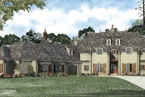 Traditional Exterior - Front Elevation Plan #17-3321