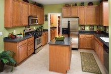 Classical Interior - Kitchen Plan #929-679