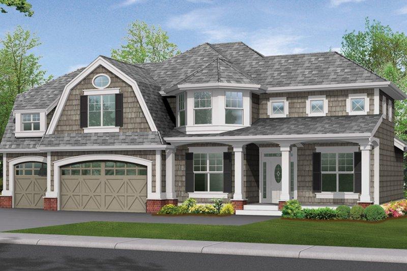 Craftsman Exterior - Front Elevation Plan #132-301 - Houseplans.com